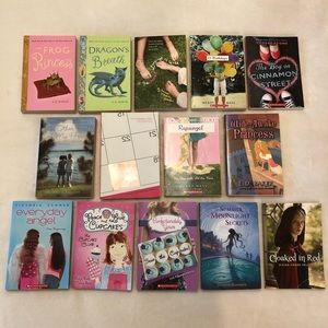 14 pre-teen young adult book lot/bundle